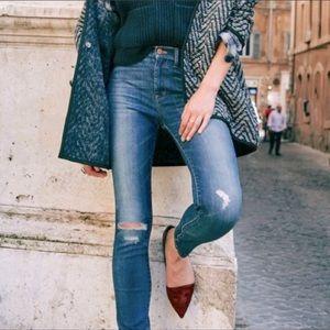 "Madewell 9"" High-Riser Skinny Skinny Jeans"